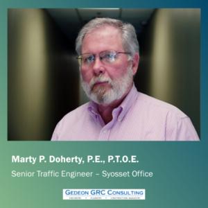 Marty Doherty Senior Traffic Engineer - Gedeon GRC
