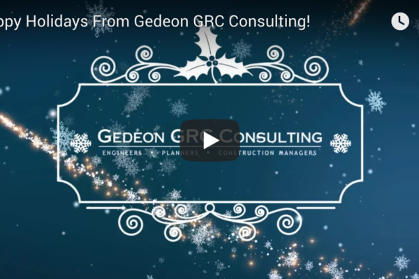 Season's greetings from Gedeon GRC Consulting
