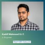 Kashif Mahmood, engineer at Gedeon GRC