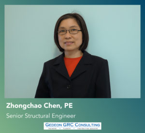 Gedeon GRC Welcomes Zhongchao Chen, PE,  Senior Structural Engineer