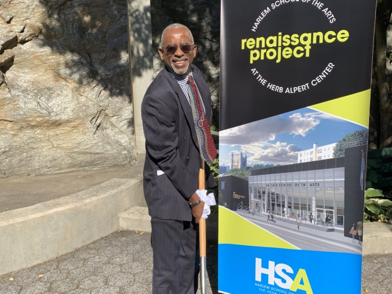 Mel Garber, CSEng., Gedeon GRC Consulting Director of Building, at the HSA ground breaking Ceremony on September 20th, 2019